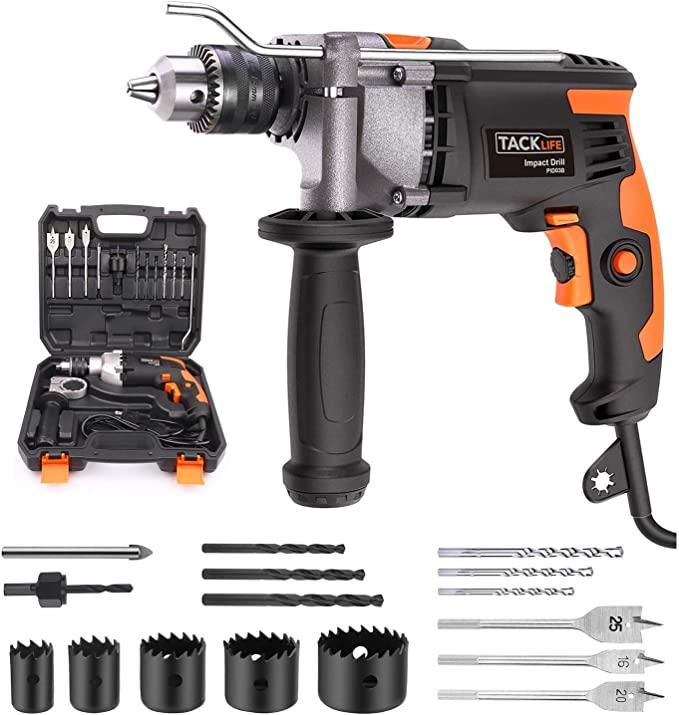 TACKLIFE Hammer Drill