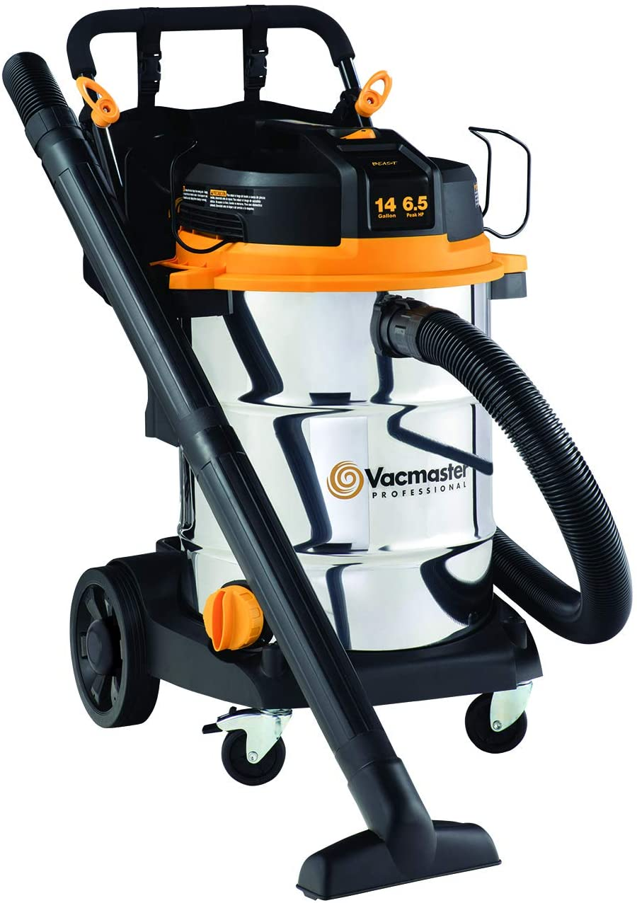 Vacmaster Professional Series Wet Dry Vac with Cart (VJE1412SW0201)
