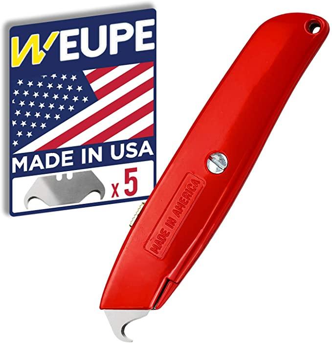 WEUPE Hook Blade Utility Knife