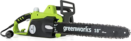 Greenworks Corded Electric Chainsaw 20332