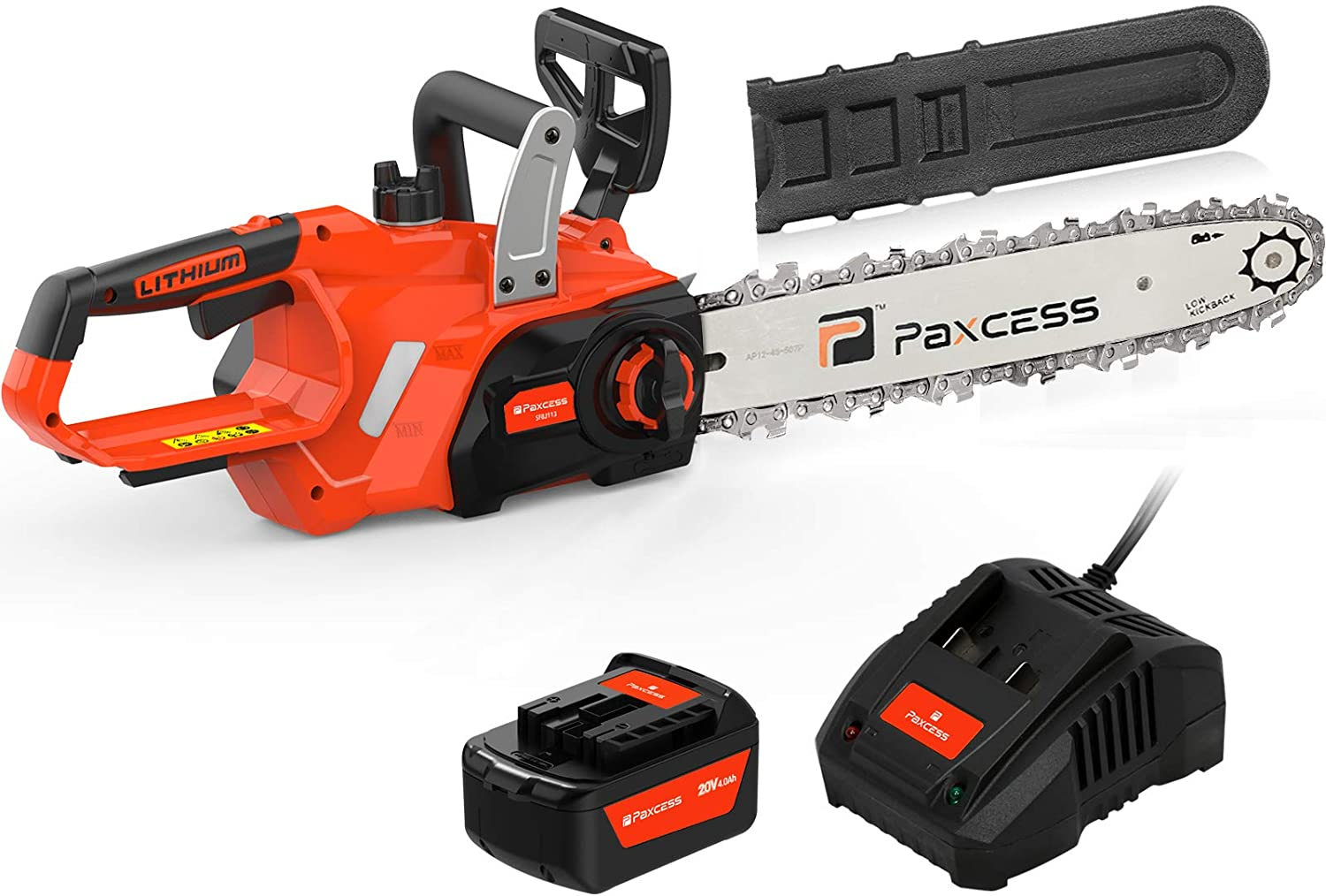 PAXCESS 12-inch Cordless Chainsaw