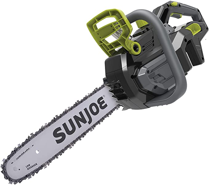 Sun Joe iON100V-18CS-CT Cordless Handheld Chainsaw