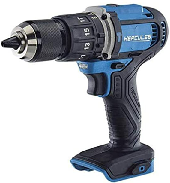 Hercules 20V Cordless 1 2in Compact Hammer Drill Driver Kit