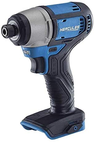 Hercules 20V Cordless 1 4in Hex Compact Impact Driver Kit