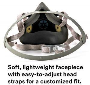3M Half Facepiece Reusable Respirator 6300 View 1