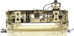 BobCNC E4 CNC Machine Back View