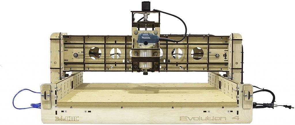 BobCNC E4 CNC Machine Front View
