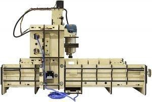 BobCNC E4 CNC Machine Side View