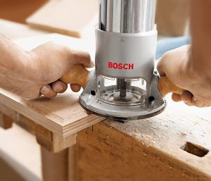 Bosch 1617EVSPK 2.25HP Plunge & Fixed-Base Router View 3