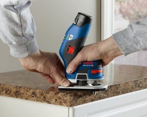 Bosch GKF12V-25N Wood Router vIEW 2