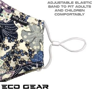 Face Mask Respirator by Eco-Gear View 2