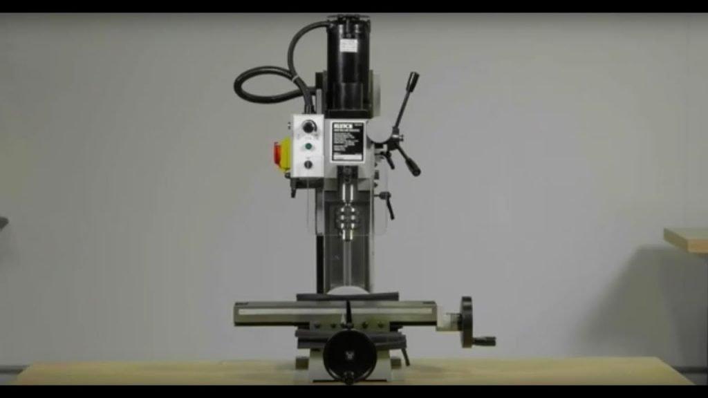 Klutch Mini Milling Machine View 1
