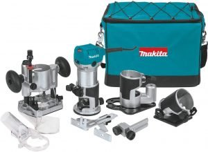 Makita RT0701CX3 Compact Router Kit View 1
