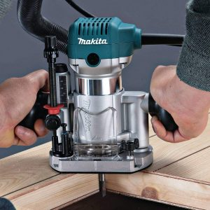 Makita RT0701CX3 Compact Router Kit View 3