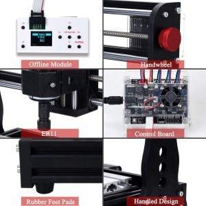 Mostics CNC Router Features