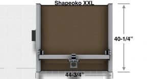 Shapeoko XXL Desktop CNC Carving Package Top View