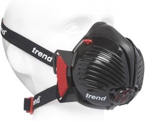 Trend Stealth Air APF10 Half Mask Respirator View 1