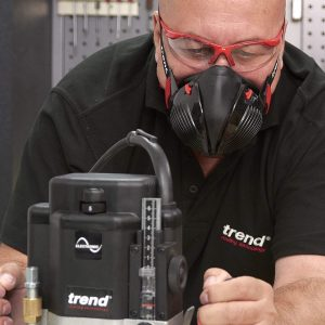 Trend Stealth Air APF10 Half Mask Respirator View 2