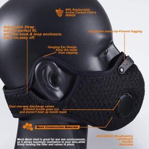 VLM Reusable & Washable Mask View 2