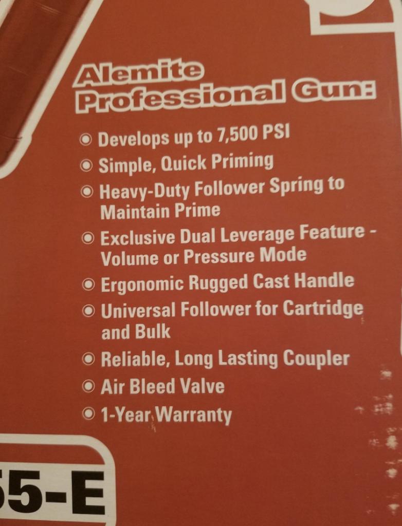 Alemite 555-E Pistol Grip Grease Gun View 1
