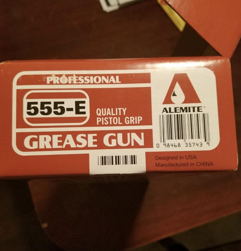 Alemite 555-E Pistol Grip Grease Gun View 2