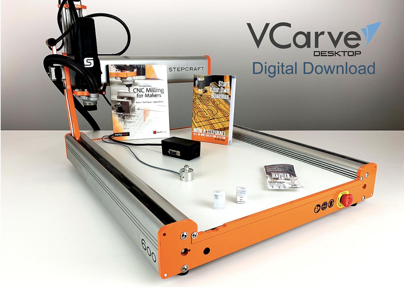 D.600 Mill & Carve CNC Package
