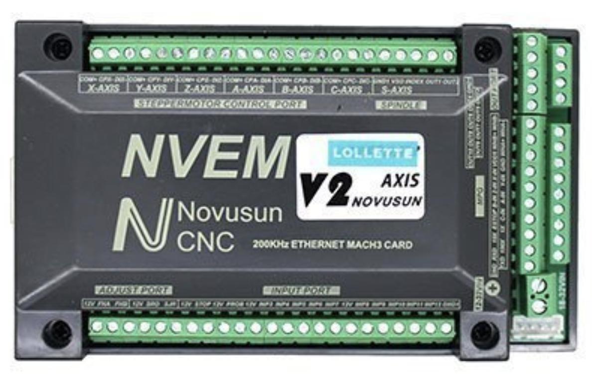NVEM CNC Controller Ethernet