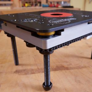 SawStop RT-LFT Four-Post Router Lift with Lock View 1