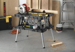 Keter Folding Table Workbench View 1